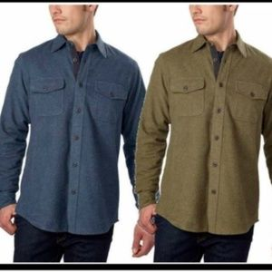 Grizzly Mountain Men?s Flannel Chamois Shirt